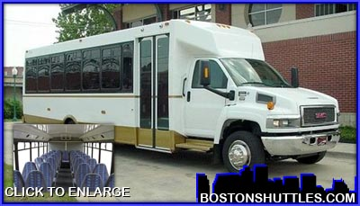 Employee Shuttle MiniBus for the Boston Metro Area